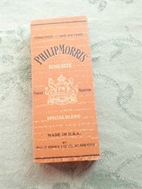 PHILIP MORRIS CIGARETTES / ONE MISSING IN PACK