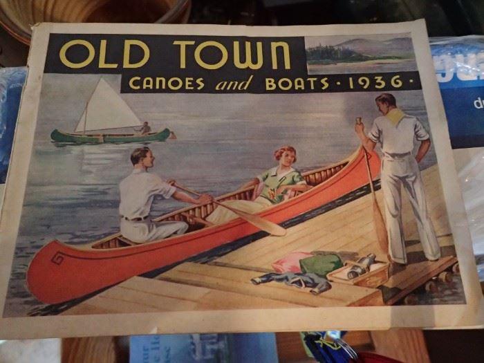 "OLD TOWN CANOE 16'  X  34 1/2"" X  13"" OTCA MODEL  75LBS -"