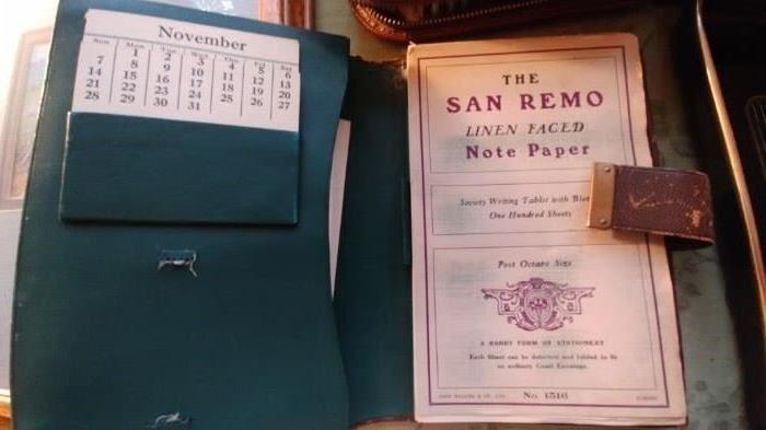 SAN REMO CALENDAR BOOK