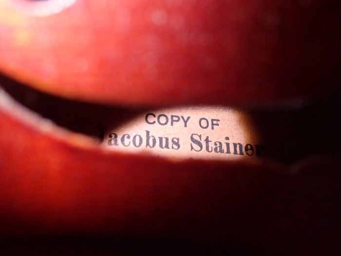 VIOLIN COPY OF JACOBUS STAINER / MADE IN GARMANY