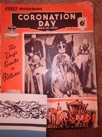 FIRST PHOTOGRAPHS CORONATION DAY MAY 12 1937
