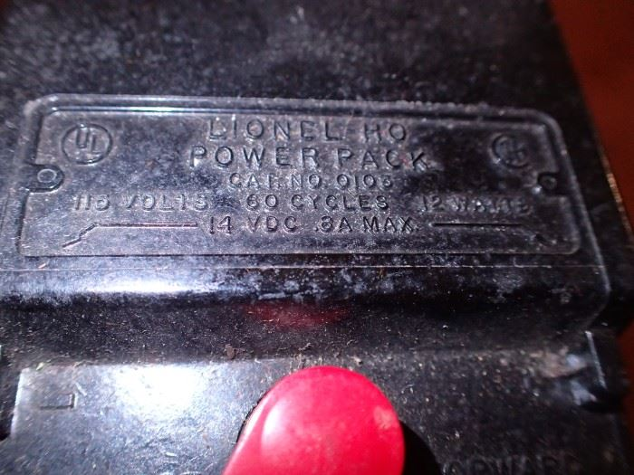 LIONEL POWER PACK