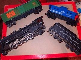 ASSORTED TRAIN CARS