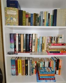 Our clients were both college professors and there are books on nearly every subject, including child psychology, sociology,  music instruction, the classics, modern novels, you name it! throughout the house.