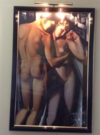 "Tamara deLempicka   ""Adam and Eve"""