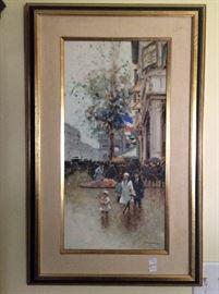 "Andre Gisson.  ""Paris Street"""