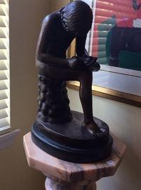 A figurative Bronze