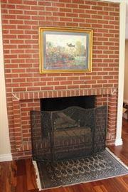 Fireplace Screen, Rug
