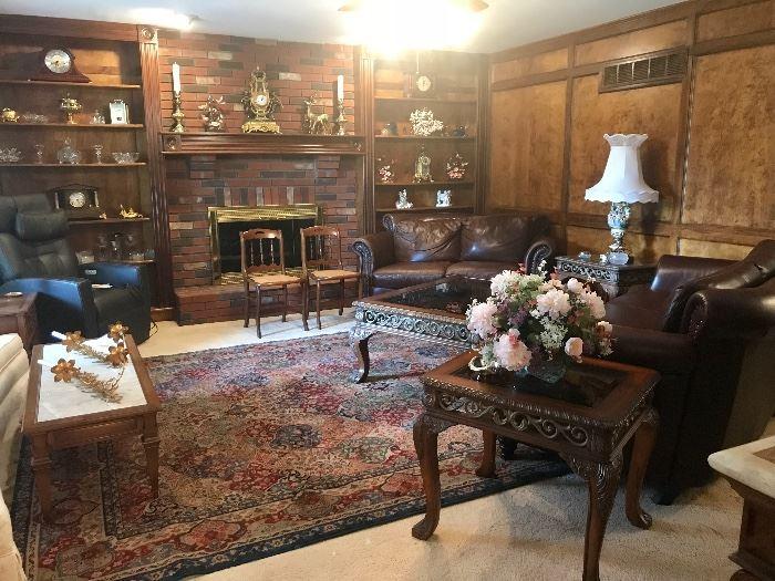 Family Room, Lovely Karastan Area Rug