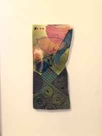 Michael Kiefer ceramic sculpture (smallish)