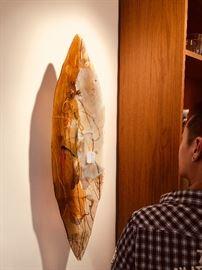 Janet Kelman glass sculpture