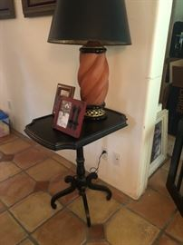 Mackenzie Child's table lamp