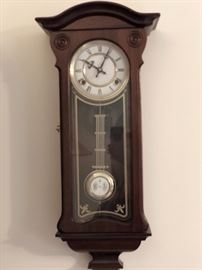 Antique R-A Vienna Regulator Clock