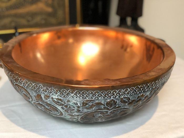 Copper sink Brand new