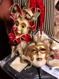 Vintage Italian masks