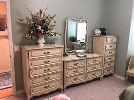 Henry Link French provincial bedroom furniture