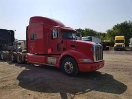 1 RUSH  2012 PETERBILT BANK REPO MISSI