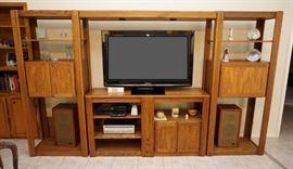 Oak entertainment systems