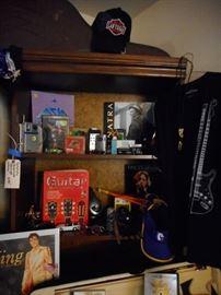 Rock books, Inteesting Paperweights, Transistor Radios, Promo Display Asia.COOL STUFF!!
