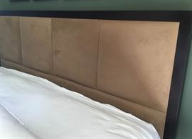 Coffee Headboard and Rails
