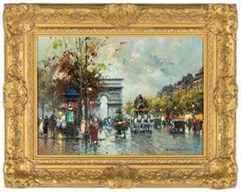"Antoine Blanchard (French, 1910-1988) ""Arc de Triomphe"""
