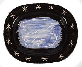Pablo Picasso (Spanish, 1881-1973) 'Bright Dove' Platter