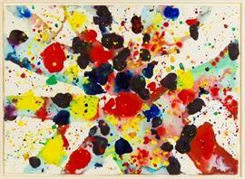 Sam Francis (American, 1923 - 1994) Bright Web, 1973 (SF73-5)
