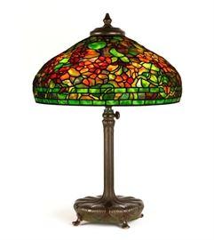Tiffany Studios, New York, 'Nasturtium' Table Lamp