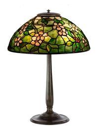 Tiffany Studios, NY 'Apple Blossom' Table Lamp