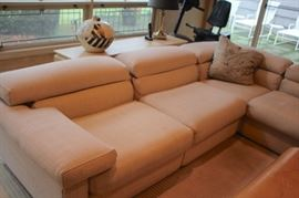 Over-sized, Contemporary Sectional