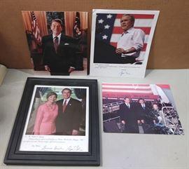 Bush....Bush Jr. Reagan pictures