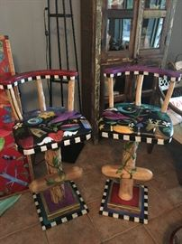 """Sticks"" Bar Stools"