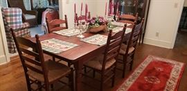 Cody Road Dining room Table and 6 Chairs