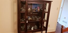 Collection of Crystal and Bird Collectibles