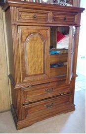 08 Oak Dresser