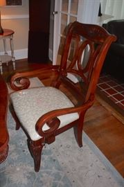 Fresh Dining Table, Chairs and Breakfront