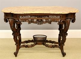 Joseph Meeks Rosewood Parlor table