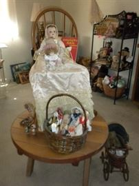 ANTIQUE DOLLS AND TOYS