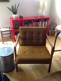 vintage chair w/o cover