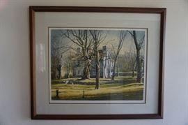 Robert Addison signed print