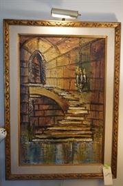 Van Hoople original Gothic painting