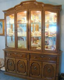 Lighted China Cabinet by Thomasville
