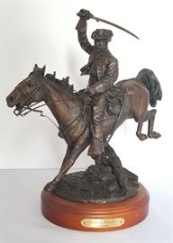Ron Tunison Hot Cast Bronze Southern Cavalier