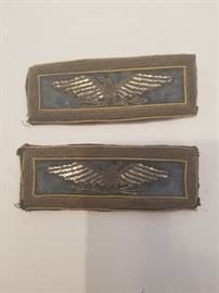 Civil War Military Colonel Shoulder Bars