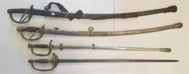 Civil War Swords