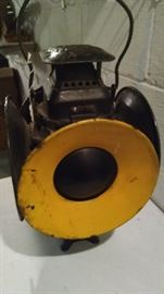 VINTAGE RAILROAD LANTERN..THE ADLAKE