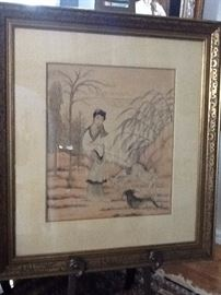 #104       Original  Watercolor    Noted Artist     $3750.