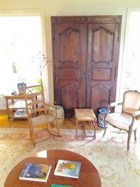 French provencal furniture, chairs are sold