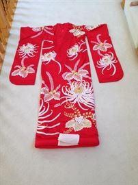 Aisan Japanese Ceremonial Kimono