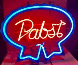 Vintage Pabst Neon Light